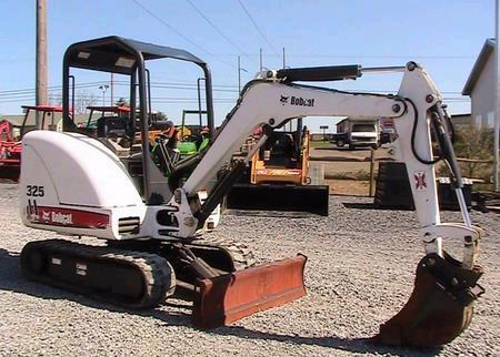 Where to find MINI EXCAVATOR BOBCAT 325 D in Louisville