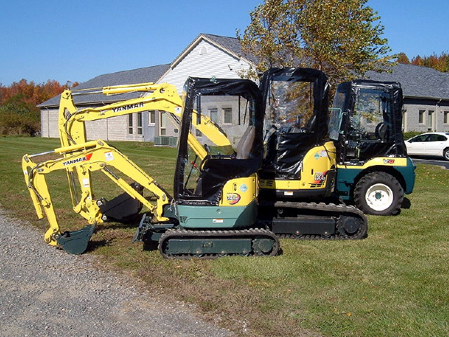 Where to find MINI EXCAVATOR YANMAR V027 067 in Louisville