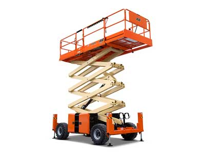 Rent Rough Terrain Scissor Lifts